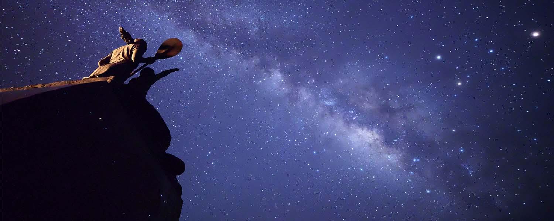小笠原村諸島の星空の写真
